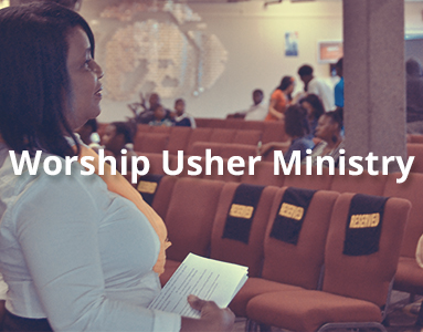 Worship Usher Ministy