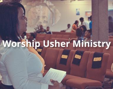 Worship Usher Ministy
