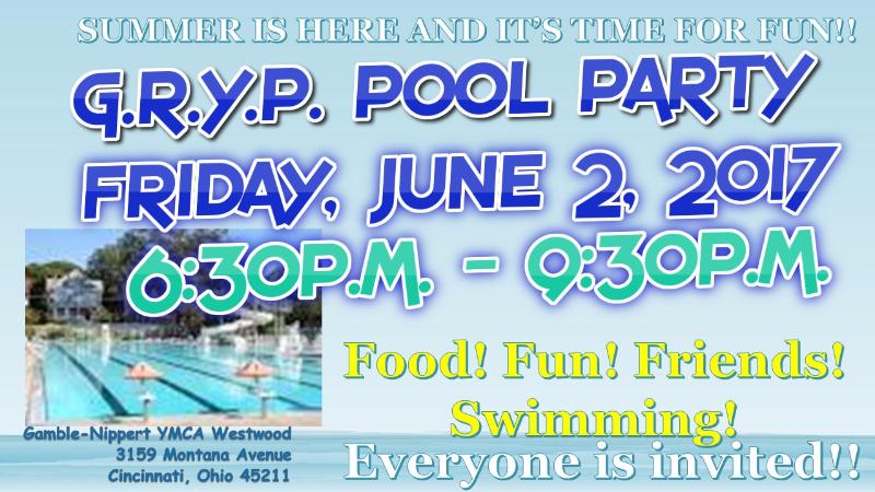 G.R.Y.P. Pool Party