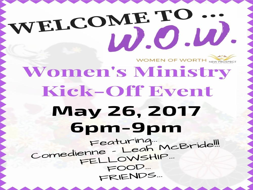 Women's Ministry Kick-off Event