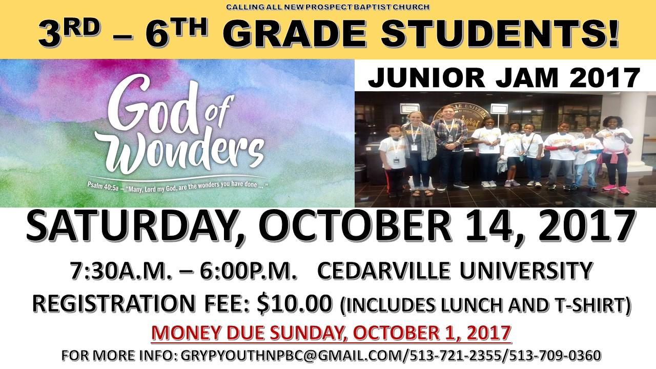 God of Wonders at Cedarville University, Saturday, October 14, 2017