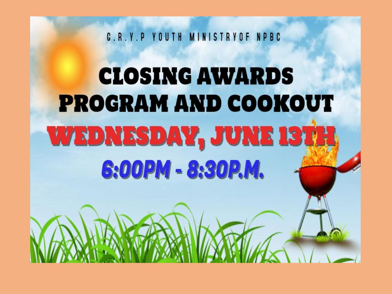 GRYP Closing Awards Program and Cookout – New Prospect