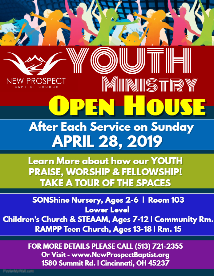 Youth Ministry Open House New Prospect Baptist Church