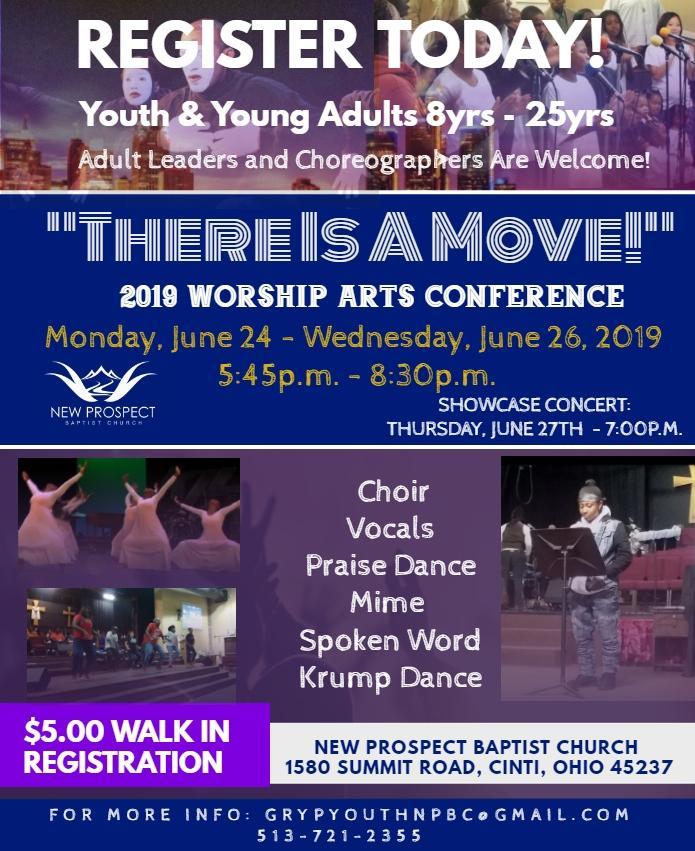 2019 Worship Arts Conference – New Prospect Baptist Church